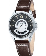 AVI-8 AV-4006-03 Mens Hawker Harrier II Brown Leather Strap Watch