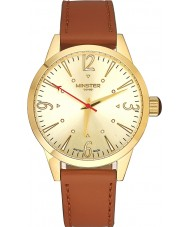 Minster 1949 MN01GLGL10 Mens Crofton Tan Leather Strap Watch