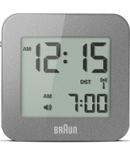 Braun BNC008GY-RC Grey Digital Travel Alarm Clock