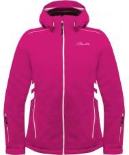 Dare2b Ladies Work Up Electric Pink Ski Jacket
