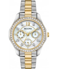 Bulova 98N114 Ladies Crystal Watch