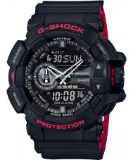 Casio GA-400HR-1AER Mens G-Shock World Time Black Combi Watch