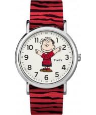 Timex TW2R41200 Peanuts Weekender Watch