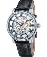 Thomas Earnshaw ES-8040-01 Mens Longcase 43mm Black Leather Strap  Watch