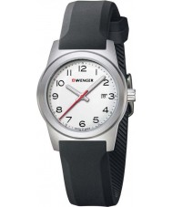 Wenger 01-0411-133 Ladies Field Color Black Silicone Strap Watch