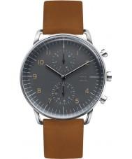 Zoom ZM-7148M-2508 Mens Refine Grey Brown Watch