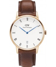 Daniel Wellington DW00100091 Dapper 34mm St Mawes Rose Gold Watch