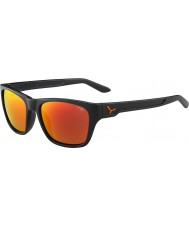 Cebe Hacker Matt Grey 1500 Grey Flash Mirror Orange Sunglasses