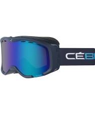 Cebe CBG113 Cheeky OTG Blue and Cyan - Brown Flash Blue Ski Goggles