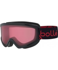 Bolle 21491 Freeze Shiny Black and Red - Vermillon Ski Goggles