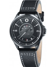 AVI-8 AV-4006-04 Mens Hawker Harrier II Black Leather Strap Watch