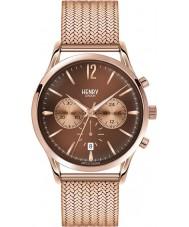 Henry London HL41-CM-0056 Mens Harrow Brown Rose Gold Chronograph Watch