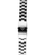 Elliot Brown STR-B02 Mens Canford Silver Steel Brushed Strap