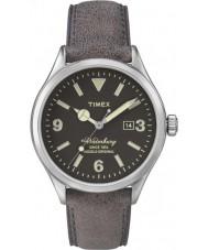 Timex Originals TW2P75000 Mens Originals Modern Brown Leather Strap Watch