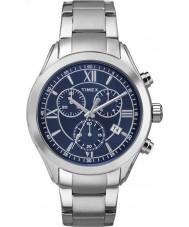 Timex TW2P94000 Mens City Miami Silver Steel Bracelet Watch