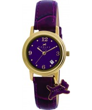 Radley RY2008 Ladies Charm Purple Leather Strap Watch