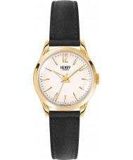 Henry London HL25-S-0002 Ladies Westminster Black Leather Strap Watch