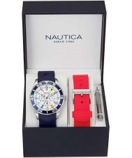 Nautica NAI13502G Mens NST Watch Gift Set