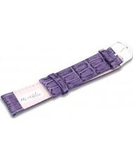 Krug Baümen MC15620L Candy Purple Leather Replacement Ladies Principle Strap