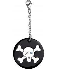 I Puppies PY-013 Dog Black Crystal Medallion