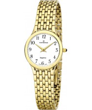 Candino C4365-1 Ladies White and Gold Steel Bracelet Watch