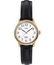 Timex T20433 Ladies Gold Black Easy Reader Watch