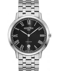 Roamer 515810-41-52-50 Mens Superslender Silver Steel Bracelet Watch