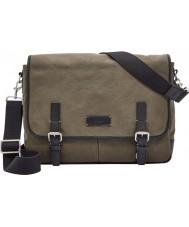 Fossil MBG9254345 Mens Graham Olive Messenger Bag