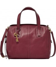 Fossil ZB6847609 Ladies Emma Wine Satchel