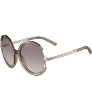 Chloe Ladies CE708S Crystal Turtledove Sunglasses