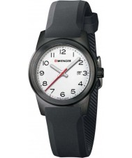 Wenger 01-0411-135 Ladies Field Color Black Silicone Strap Watch