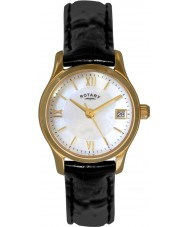 Rotary LS02368-41 Ladies Timepieces Eco Dress Gold Plated Watch