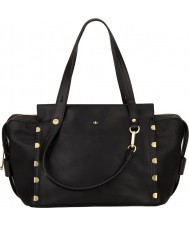 Nica NH6161-BLACK Ladies Kendall Black Bowler Bag