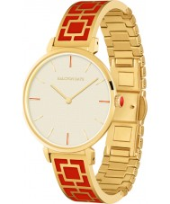 Halcyon Days HD4012 Ladies Maya Two Tone Brass Bracelet Watch