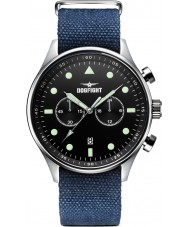 Dogfight DF0024 Mens Ace Blue Fabric Chronograph Watch