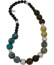 D and G DJ0870 Ladies Multicolour Over Me Necklace
