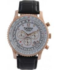 Krug-Baumen 600702DS Mens Air Traveller Diamond Watch