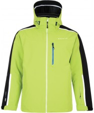 Dare2b DMP320-7FJ40-XS Mens Resonant Lime Green Ski Jacket - Size XS