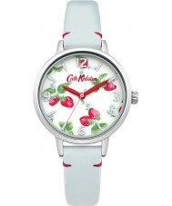 Cath Kidston CKL006WUS Ladies Strawberries Blue Leather Strap Watch