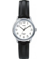 Timex T20441 Ladies Silver Black Easy Reader Watch