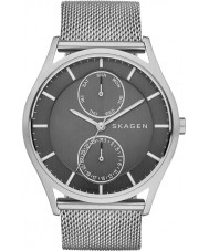 Skagen SKW6172 Mens Holst Silver Mesh Strap Watch