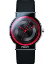 Zoom ZM-3766M-2509 Beat Black Red Watch