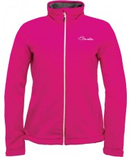Dare2b DWL316-1Z018L Ladies Attentive Electric Pink Softshell Jacket - Size UK 18 (XXL)