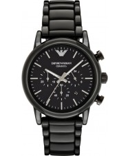 Emporio Armani AR1507 Mens Classic Black Ceramic Bracelet Watch