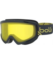 Bolle 21493 Freeze Shiny Grey and Yellow - Lemon Ski Goggles