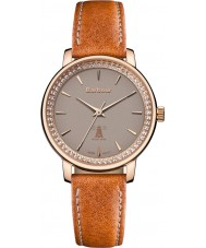 Barbour BB032RSTN Ladies Holywell Brown Leather Strap Watch