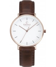 Obaku V186LXVWRN Ladies Vest Watch