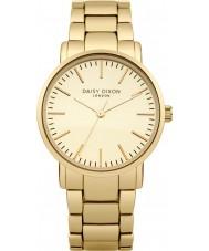 Daisy Dixon DD004GM Ladies Kate Matt Mirror Dial Gold Plated Watch