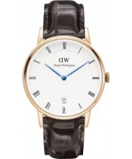 Daniel Wellington DW00100093 Dapper 34mm York Rose Gold Watch