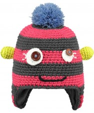 Barts 22673121 Kids Monster Fuchsia Beanie - 1-3 years